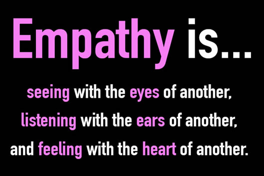But Even Then, This Definition Is A Bit Of A Blanket Statement; It Implies  That We Can Actively Decide When We Empathize And When We Do Not.