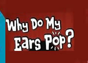 Why do ears pop in flight?