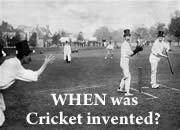 When was Cricket invented?