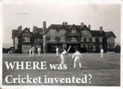 Where was Cricket invented?