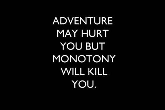 Monotony meaning