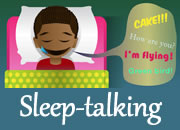 Why do people sleep talk?