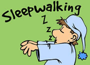 Why do people sleepwalk?